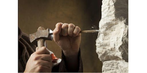 Hammer & Chisel Stone Carving Series for Beginners (2020-03-14 starts at 10:00 AM)