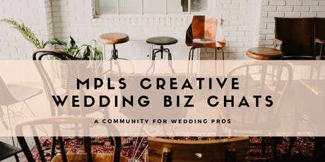 MPLS Creative Wedding Biz Chats | SEO with Hipreneur tickets