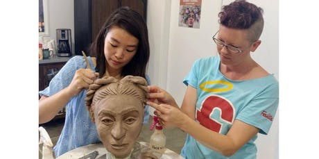 Portrait Sculpture Series for Beginners  (2019-12-02 starts at 11:00 AM) tickets