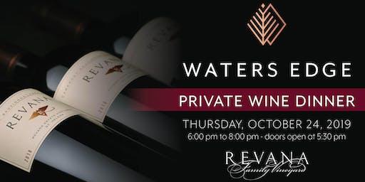 Revana Private Wine Dinner