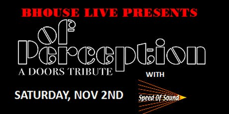 Of Perception - Doors Tribute tickets