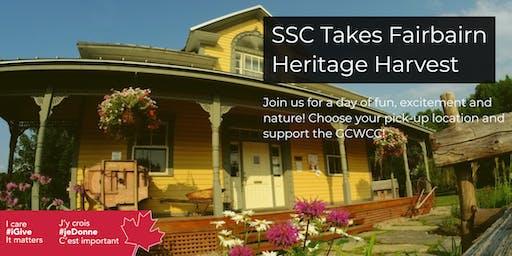 SSC Takes Fairbairn Heritage Harvest