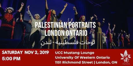 لوحات فلسطينية tickets