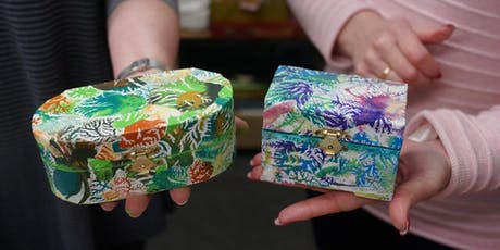 Decoupage Box Afternoon tickets