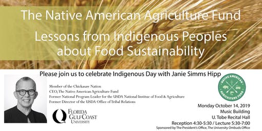 Indigenous Day - Janie Simms Hipp