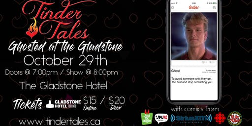 Tinder Tales: Ghosted at The Gladstone