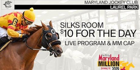 Maryland Million Silks Simulcast Room tickets