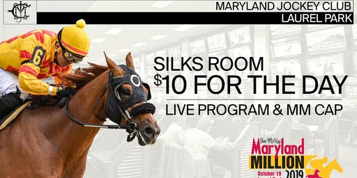 Maryland Million Silks Simulcast Room