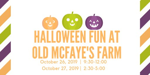 Halloween Fun At Old McFaye's Farm