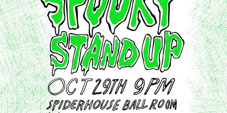 Spooky Standup tickets