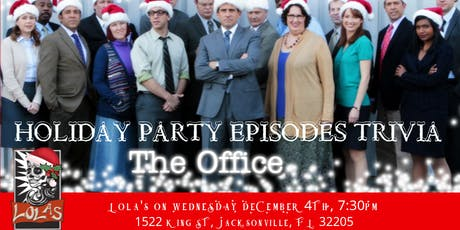 The Office Trivia The Holiday Party Episodes- Lola's Burrito & Burger Joint tickets