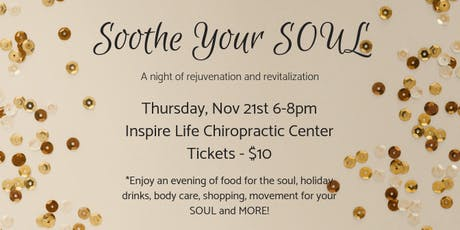 Soothe Your Soul  tickets