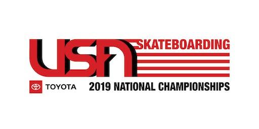 USA Skateboarding Toyota 2019 National Championships