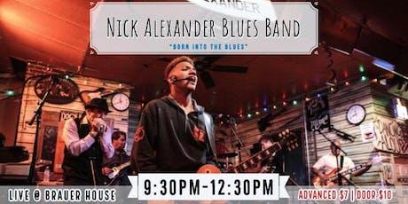 Nick Alexander Blues Band tickets