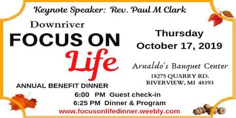 Focus on Life Dinner 2019 tickets
