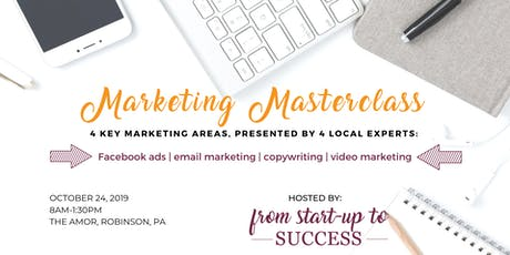 Marketing Masterclass Hosted by From Start-Up to Success tickets