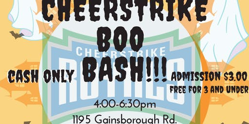 CheerStrike Boo Bash