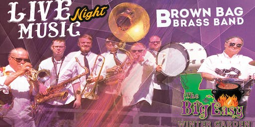 Brown Bag Brass Band Performing Live on The Big Easy Stage