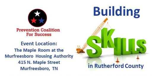 PC4S Building Skills in Rutherford Co. - QPR Suicide Prevention Training