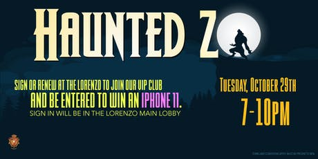 Haunted Zo tickets