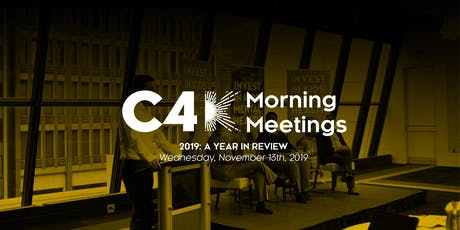 Capitalize for Kids Morning Meetings - 2019: A Year in Review tickets