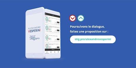 Atelier plateforme participative : remise des propositions billets