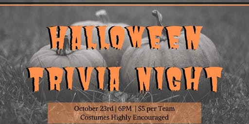 Halloween Trivia Night