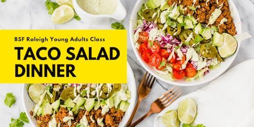 BSF Taco Salad Dinner