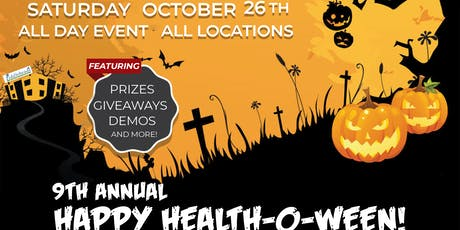 Happy Health-O-Ween with Fiddleheads Health and Nutrition! tickets