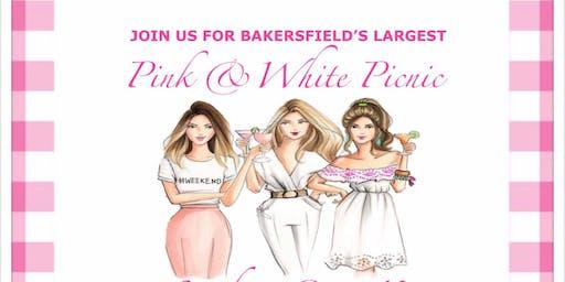 Pink & White Picnic