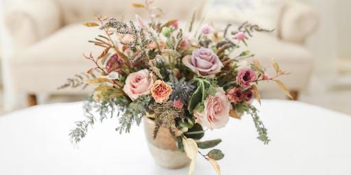 Bloom & Vine Floral Arranging Class