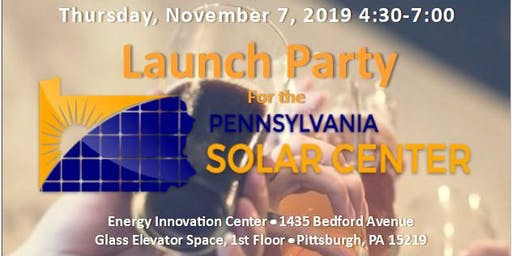 PA Solar Center Launch Party