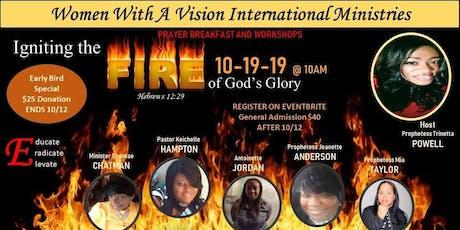 Ingiting Firer of God Glory tickets
