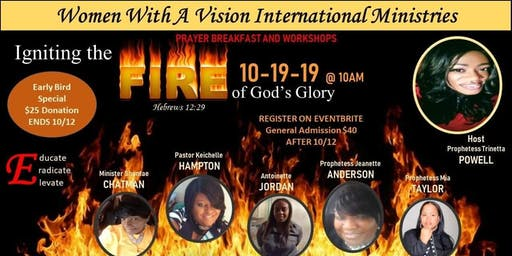 Ingiting Firer of God Glory