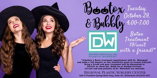Bootox & Bubbly Party - Dr. Denton Watumull of Regional Plastic Surgery Ctr