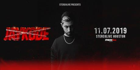 Jaykode - Stereo Live Houston