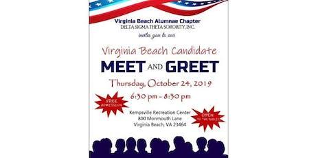 Virginia Beach Candidate Meet & Greet tickets