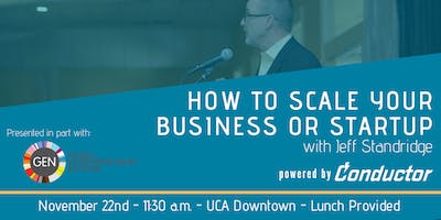 Scaling your business or startup workshop