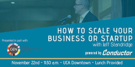 Scaling your business or startup workshop tickets