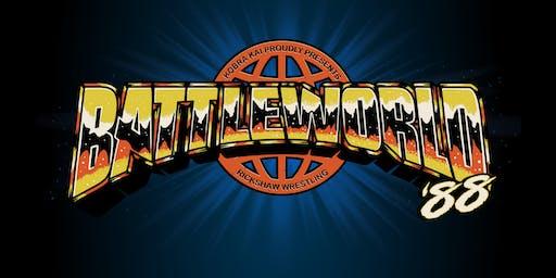 BattleWorld '88 - A Rickshaw Wrestling Presentation