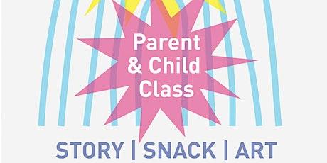 Pop Pop Parent and Child Art Class tickets