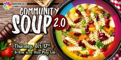 Community Soup 2.0 - October Edition