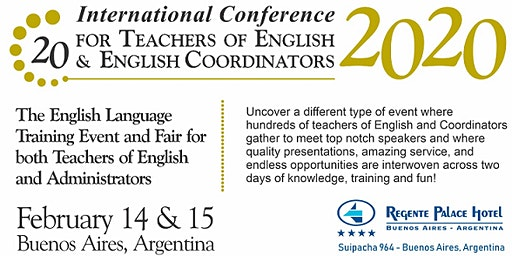 20th International Conference for Teachers of English & English Coordinators
