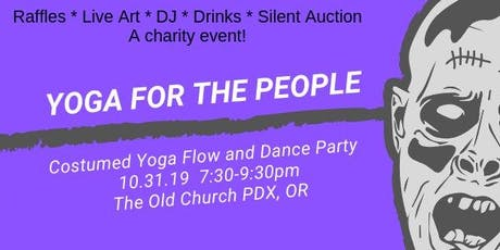 Yoga for the People Yoga and Dance Party tickets
