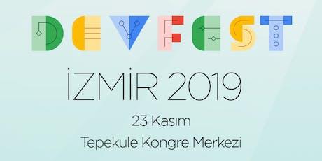GDG DevFest Izmir '19 tickets