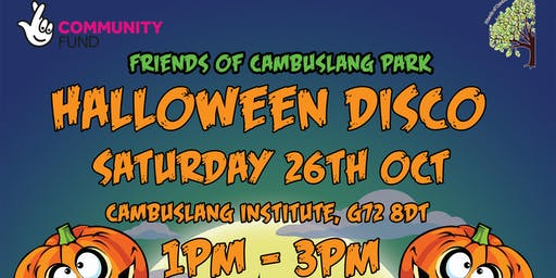 Halloween Disco & Games (FoCP October 2019)
