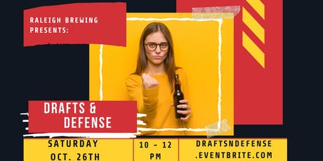 Drafts & Defense | Self-Defense Class | Raleigh Brewing Company tickets