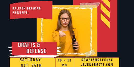 Drafts & Defense | Self-Defense Class | Raleigh Brewing Company