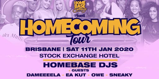 HOMEBASE | HOMECOMING TOUR