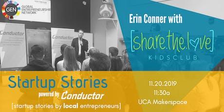 Startup Stories: Erin Conner tickets